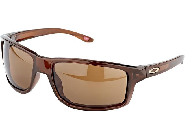 Oakley Gibston Okulary przeciwsłoneczne, polished rootbeer/prizm bronze